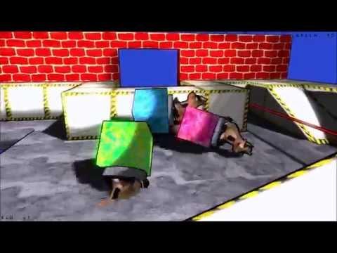 Bouncing Blocks Game Play