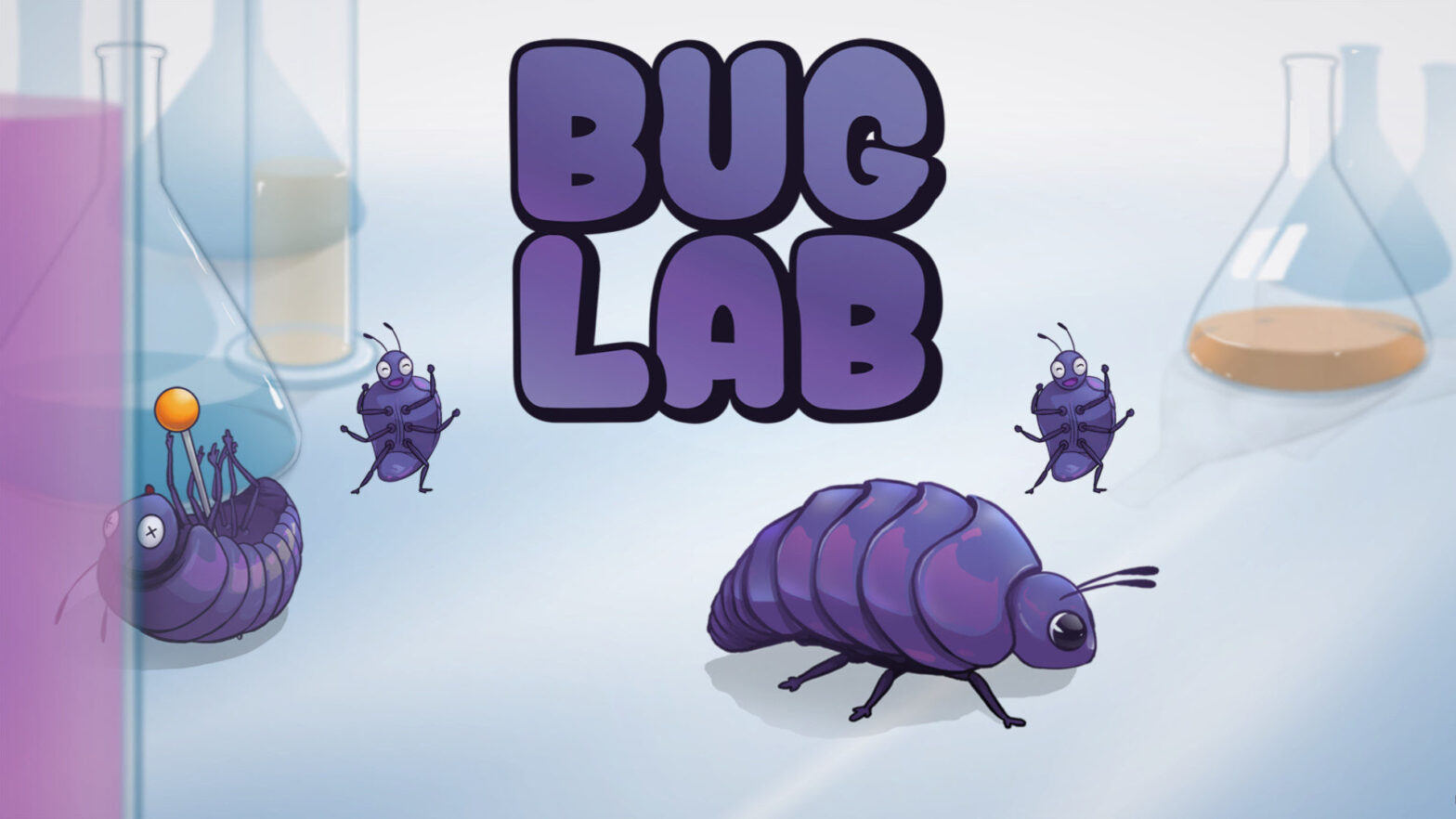 Bug Lab Start screen